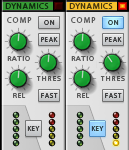 Propellerhead-Reason-Mixer Sidechain Kompression Mixing